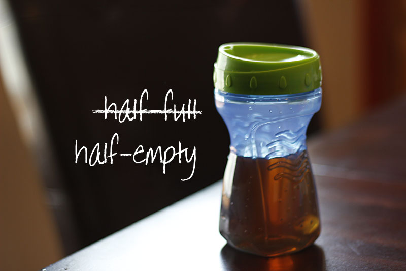 When the Sippy Cup is Half-Empty: My Doubts Going into Motherhood