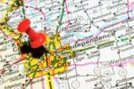 14500626-london-uk--13-june-2012-kansas-city-marked-with-red-pushpin-on-the-united-states-map