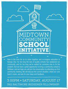Midtown Community School Initiative flier