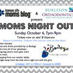 It's all about the SWAG at Moms Night Out