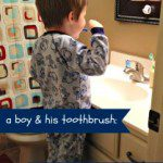 a boy and his toothbrush: Beating the Bedtime Blues