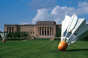 Nelson Atkins Museum lawn