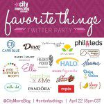 Join us for the #CMBNFavThings Twitter Party for a chance to win our favorite things!