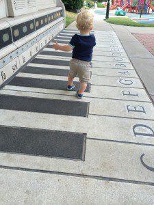 musical sidewalk