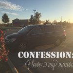 Confession: I love my minivan
