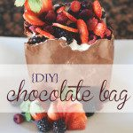 DIY : Valentine's Day Chocolate Bag