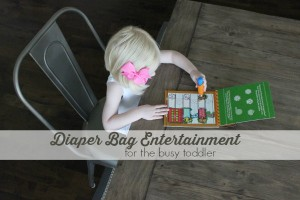 toddler diaper bag entertainment