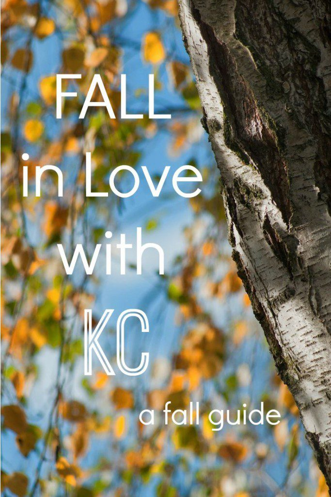 FALL in Love with KC: a fall guide