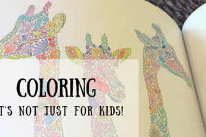Hosting a coloring party