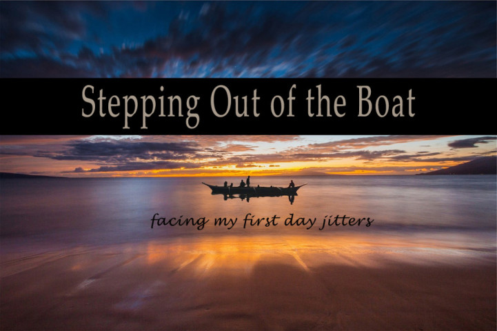 Stepping Out of the Boat