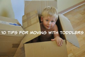 10 Tips for Moving with Toddlers