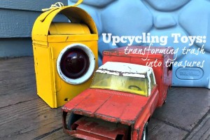 Upcycling Toys: transforming trash into treasures