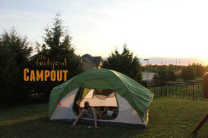 the backyard campout