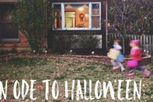An Ode to Halloween