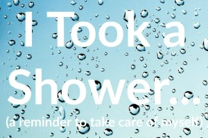 takeashower