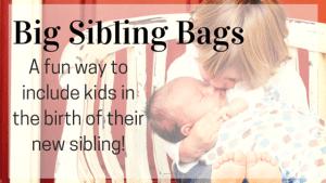 Big Sibling Bags | Kansas City Moms Blog