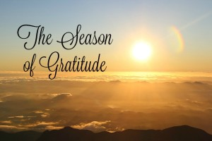 The Season of Gratitude