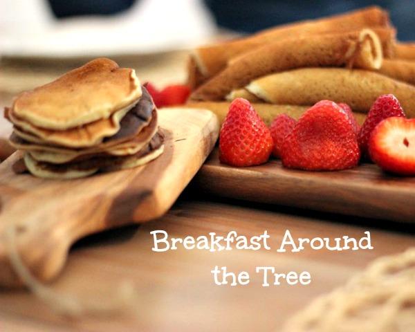 Breakfast Around the Tree
