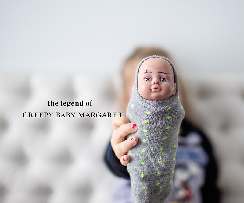 Legend of Creepy Baby Margaret