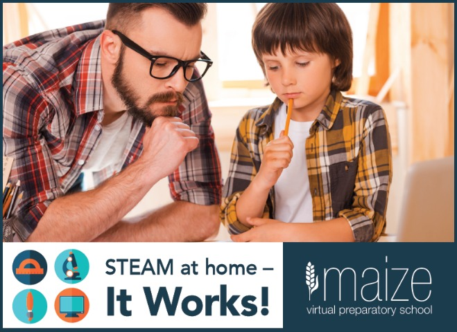 STEAM at Home - It Works!