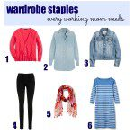 6 Wardrobe Staples Every Working Mom Needs