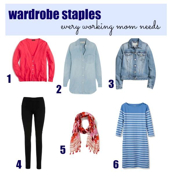 6 Wardrobe Staples Every Working Mom Needs