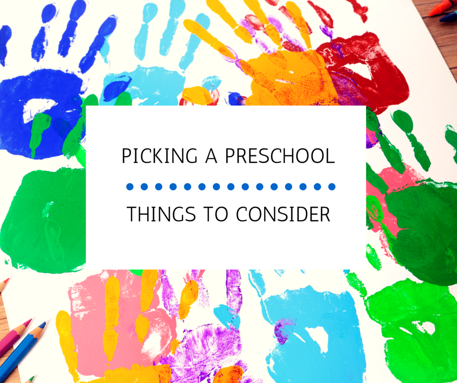 Picking a Preschool: Things to Consider | Kansas City Moms Blog