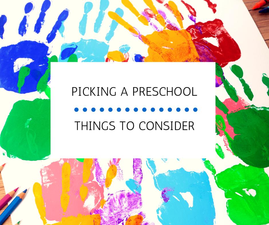 Picking a Preschool: Things to Consider | Kansas City Moms Blog