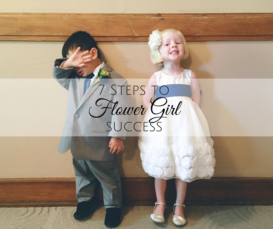 Kansas City Moms Blog: 7 Steps to Flower Girl Success