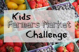 Kids Farmers Market Challenge