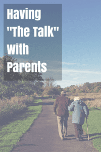 Having The Talk With Parents