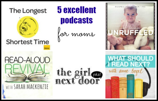 5 Great Podcasts for Moms