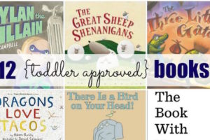 Storytime Favorites: 12 Toddler-Approved Books