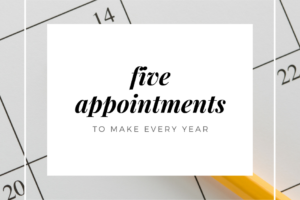 yearly appointments