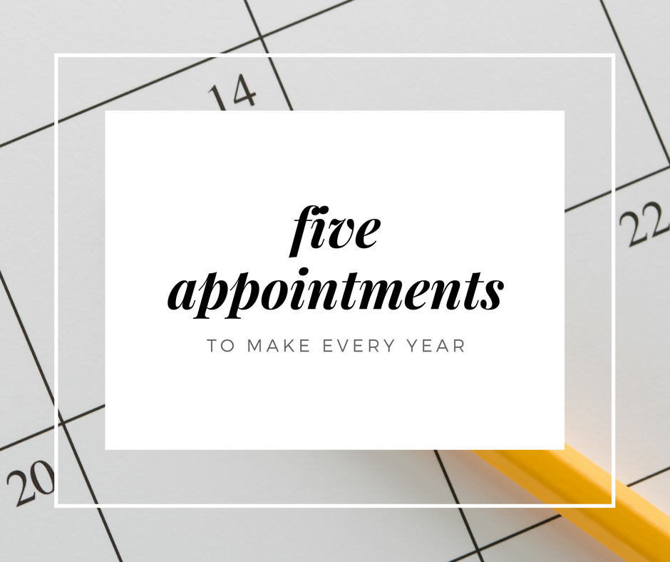 yearly appointments | Kansas City Moms Blog