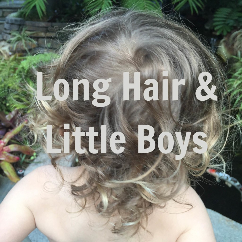 Why I won't be cutting my son's hair anytime soon