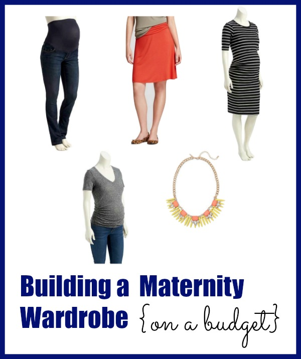 How to build a maternity wardrobe on a budget.