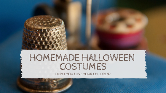 Homemade Halloween Costumes: Don't You Love Your Children?