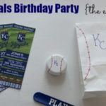 KC Royals Birthday Party the Easy Way