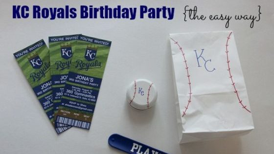 KC Royals Birthday Party {the easy way}