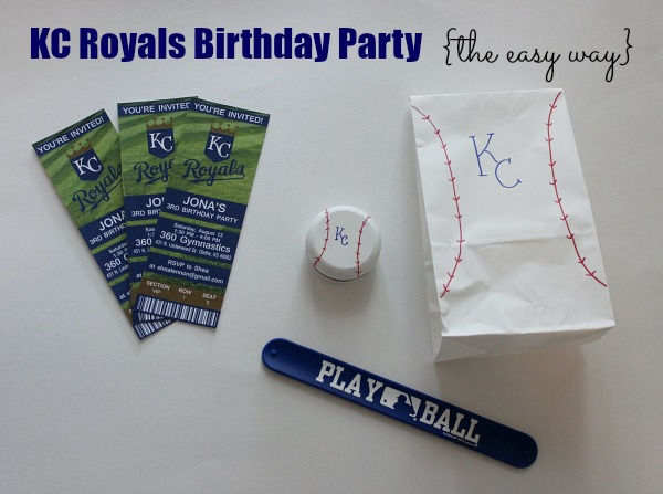 KC Royals party the easy way - my tips