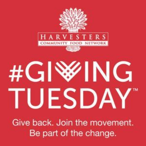 #GivingTuesday Harvesters