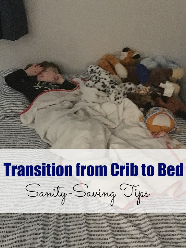 Tips for Transitioning from the Crib