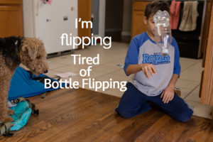 bottle-flipping