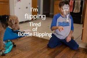 bottle-flipping