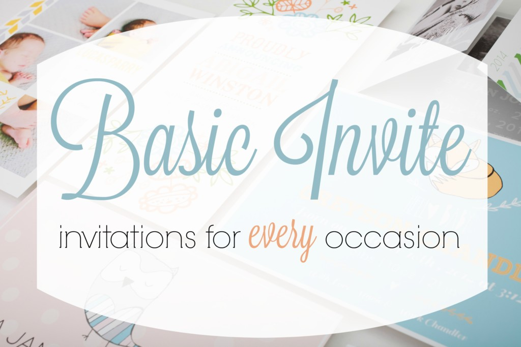 Basic Invite: Invitations for Every Occasion | Kansas City Moms Blog