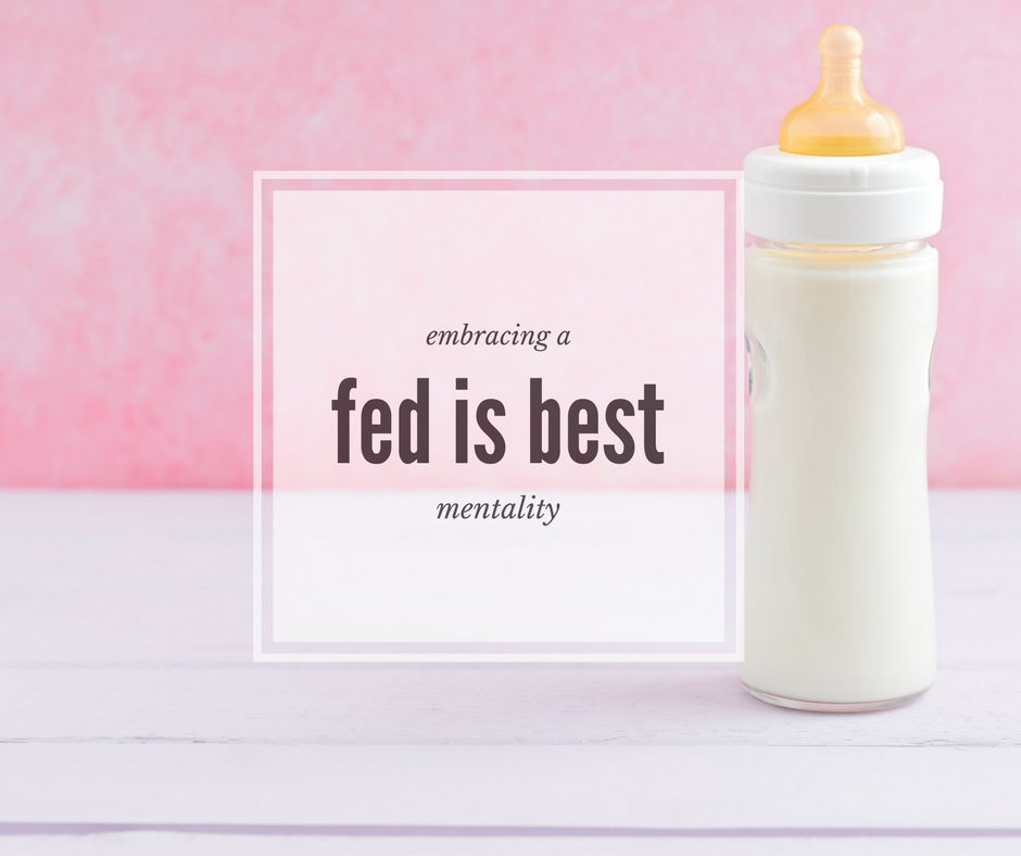 Embracing a 'Fed is Best' Mentality | Kansas City Moms Blog