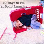 10 Ways to Fail at Doing Laundry