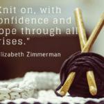 Knitting Through Motherhood