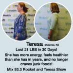 Teresa Maxwell: Radio Celebrity, Mom and Weight Loss Success Story